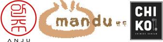 Scott Drewno, Danny Lee and Angel Barreto Restaurant Logo