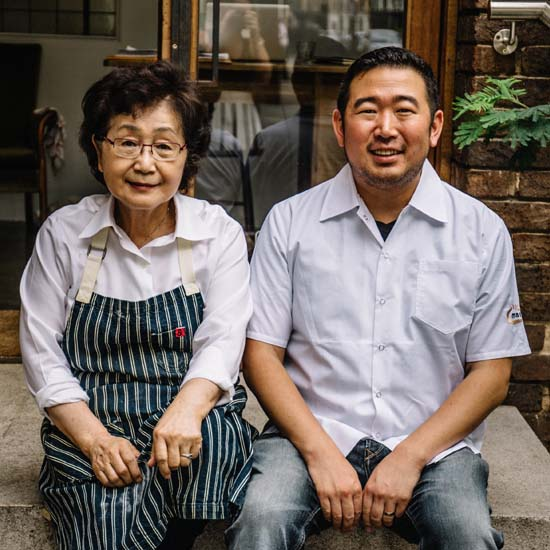 Danny Lee & Momma Lee Head Shot