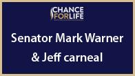 Senator Mark Warner and Jeff Carneal
